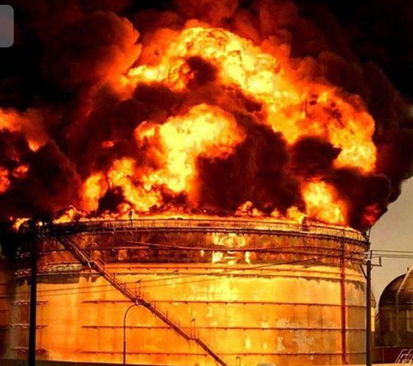 ایمنی مخازن ذخیره از آتش سوزی